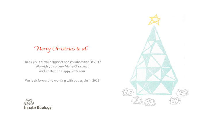 Innate Christmas Greetings 2012