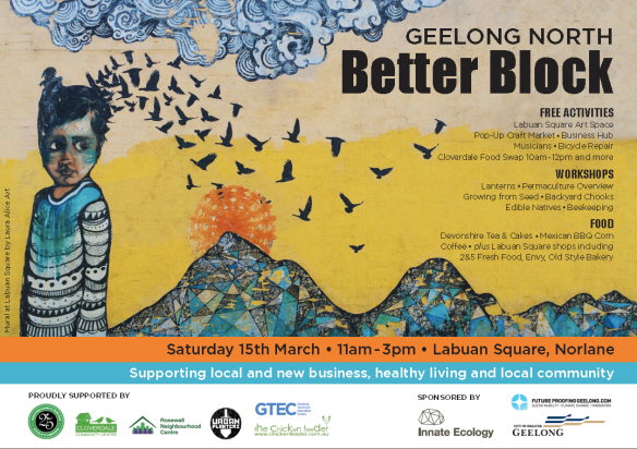 Geelong North Better Block poster