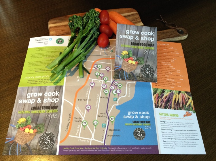 Grow, Cook, Swap, Shop - Local Food Map